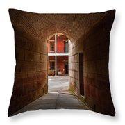 Ft. Point Hallway Throw Pillow
