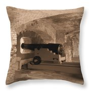 Ft Sumpter Defense Throw Pillow