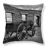 Ft. Union Ruins Throw Pillow