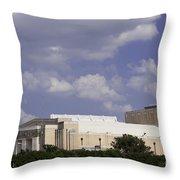 Ft Worth Texas - Landmark Throw Pillow