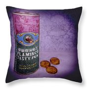 Ftf Can And Coins Throw Pillow
