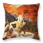 Fuan At Dawn Throw Pillow by Jon Volden