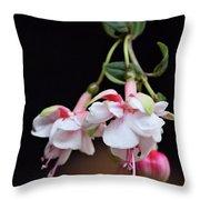 Fuchsia 2 Throw Pillow
