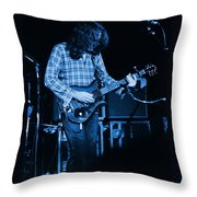 Fuel To The Blue Fire Throw Pillow