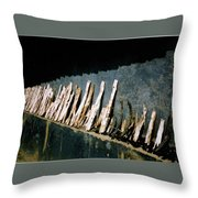 Fuel Wood Throw Pillow