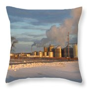 Fueling Life  Throw Pillow