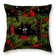 Fugi Sashi In The Deep Sea Of Japan Throw Pillow