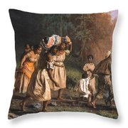 Fugitive Slaves, 1867 Throw Pillow by Granger