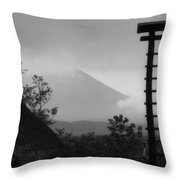 Fuji Bell Throw Pillow