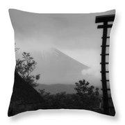Fuji Bell Throw Pillow