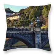 Fujimi Yagura Turret Throw Pillow