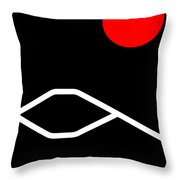Fujiyama Throw Pillow