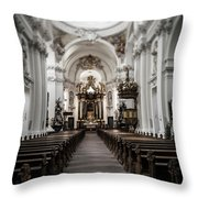 Fulda Cathedral Inside Throw Pillow