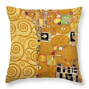Fulfilment Stoclet Frieze Throw Pillow