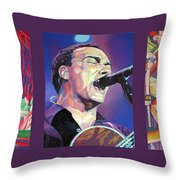 Dave Matthews Band -full Band Set Throw Pillow