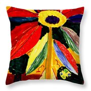 Full Bloom - My Home 2 Throw Pillow