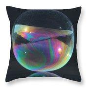 Full Bubble Throw Pillow