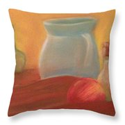 Full Color Still Life Throw Pillow