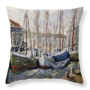 Full House By Prankearts Fine Art Throw Pillow