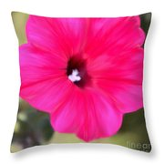 Full In Bloom Throw Pillow