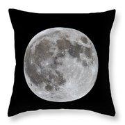 Full Moon 2 Throw Pillow