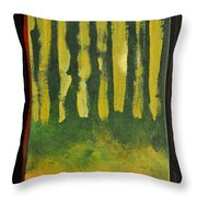 Full Moon At Dusk Throw Pillow