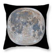 Full Moon / Day 15 Throw Pillow