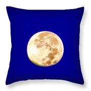 Full Moon Fever Throw Pillow