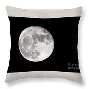 Beaver Moon Throw Pillow