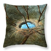Full Nest Throw Pillow
