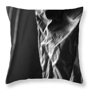 Full Of Empty Series - Solid Throw Pillow
