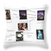 Full Of You Throw Pillow