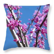 Full Pink Throw Pillow