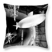 Full-scale Tunnel, Albacore Submarine Throw Pillow