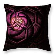 Fullerene Throw Pillow by John Edwards