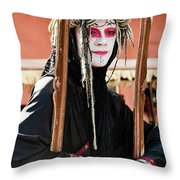 Fully Framed Mime Throw Pillow