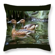 Fulvous Whistling Duck Throw Pillow