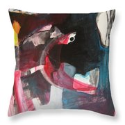 Fumbling With Memory Throw Pillow