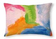 Fun Abstract Throw Pillow
