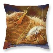 Fun In The Fall Throw Pillow