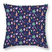 Fun In The Garden Throw Pillow