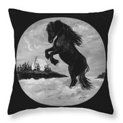 Fun In The Surf Throw Pillow