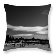 Fun On The Lake Throw Pillow