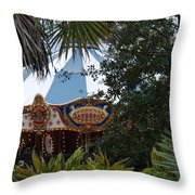 Fun Thru The Trees Throw Pillow
