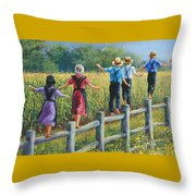Girls Can To Throw Pillow