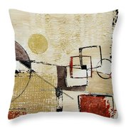 Fun With Shapes Throw Pillow