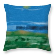 Fun With Water Throw Pillow