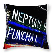 Funchal Throw Pillow