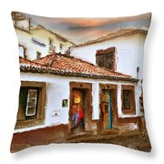 Funchal Throw Pillow