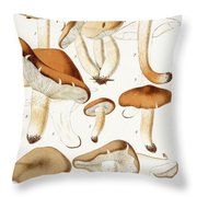 Fungi Throw Pillow